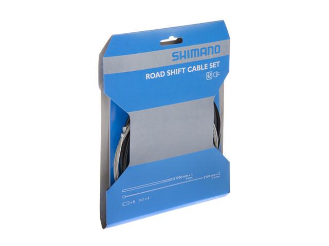 Shimano SIS-SP40 Schaltaußenhüllen-Set grau